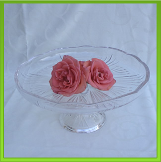 Mirror Cake Stand for Hire