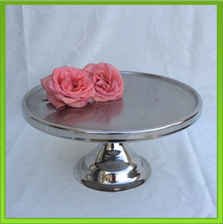 Stainless Steel Cake Stand for Hire