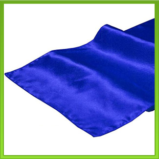 Satin Royal Blue Table Runner